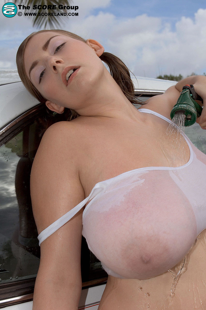 Huge boobs cars